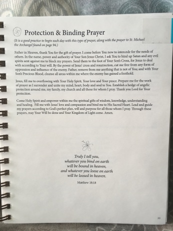 Protection and Binding Prayer